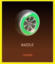 Razzle | Rocket League | ps4 | RLCS recompensas | Wheels räderl | 24/7