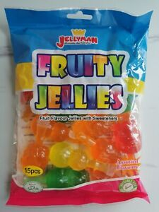 FULL BAG FRUIT JELLY TIK TOK FRUITY JELLIES CHALLENGE TREND 15pcs  Sweets candy