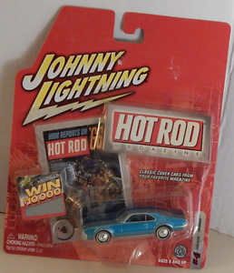 Toronado 1966 Oldsmobile Muscle Car Real Wheel Johnny Lightning Hot Rod Magazine