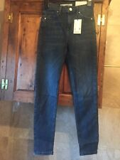 BNWT Topshop Jamie Blue jeans size 8  W26 waist leg  L30  High Waist New