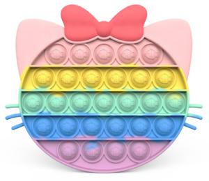 Push Pop Bubble Sensory Fidget Toy it Stress Relief Special Needs Autism Kids