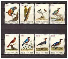 S10025) Vatican MNH 1989, Birds 8v
