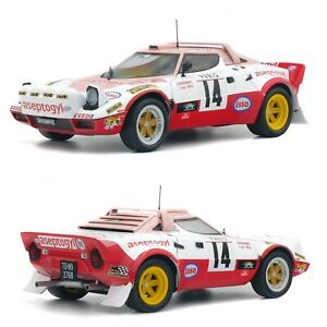 1/18 Solido Lancia Stratos RMC 1976 C.Dacremont N° 14 New Free Shipping Home