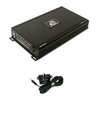 Massive Audio Amplifier BP6000.1 6000W mono block audio 2 ohm Free Bass Knob