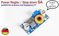 5a DC Power regulador de voltaje Step Down von5-30v nach0,8-24v Arduino UBEC