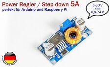 5A DC Power Spannungsregler Step down von5-30V nach0,8-24V Arduino UBEC SBEC BEC