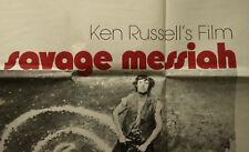 Savage Messiah Original Poster 1972 Ken Russell Original Rare Vintage Poster