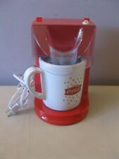 NOSTALGIA COCA-COLA 12 OZ SINGLE SERVE FROZEN SLUSHY MAKER - HARD TO FIND