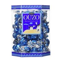 Krinos Ouzo Flavored Hard Candy 10.6 oz Gift Box Naturally Flavored Brand New