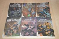 lot 6 livres Hawk & Fisher tomes 1 2 3 4 5 6 - Simon R. Green