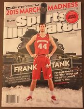 SPORTS ILLUSTRATED FRANK KAMINSKY WISCONSIN CHARLOTTE HORNETS 2015 NO LABEL