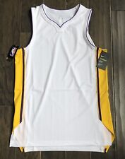 Nike aeroswift Los Angeles Lakers Jersey Talla M Llano Blanco Lebron James Kobe