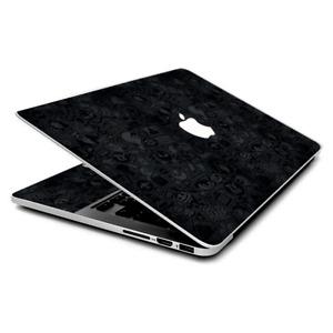 Skin Wrap for MacBook Pro 15 inch Retina  Black Sticker Slap Design