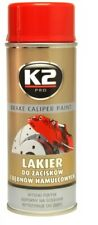 K2 RED GLOSS CALIPER PAINT 260°C Heat  Resistant  Lacquer