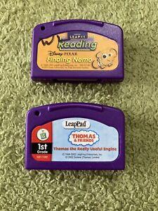 Leappad Game Lot - Disney Nemo / Thomas The Train