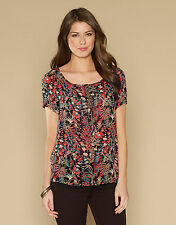 Monsoon Viscose Casual Floral Tops & Shirts for Women