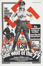 ILSA, SHE WOLF OF THE SS Movie POSTER 27x40 Dyanne Thorne Gregory Knoph Tony