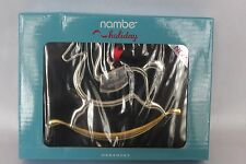 NEW! NIB! NAMBE BABY'S FIRST CHRISTMAS Rocking Horse Ornament 2015 Boxed