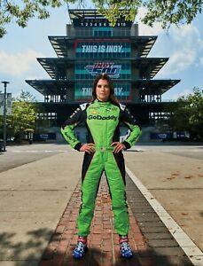 BEAUTIFUL NASCAR SUPERSTAR DANICA PATRICK   8X10 PHOTO W/ BORDERS
