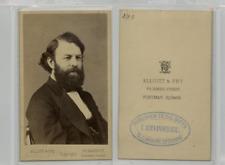 Elliot & Fry, Londres, Joseph Joachim, violoniste et compositeur austro-hongrois