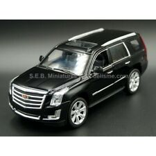 CADILLAC ESCALADE DE 2017 NOIRE 1:24-27 WELLY