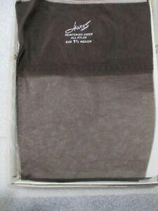Vintage Hanes Nylon Garter Stockings 3 pairs 415 Hosiery South Pacific Size 10M RHT