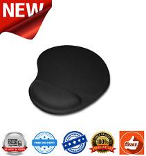 Jedel Mouse Pad with Ergonomic Wrist Rest Black