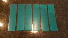 """3M 6 STRIPS 2"""" x 9"""" GREEN PRISMATIC REFLECTIVE CONSPICUITY TAPE"""