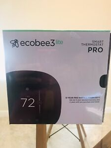 Brand New Sealed Ecobee3 Lite Smart Thermostat Pro EB-STATE3LTP-02
