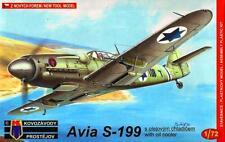 Avia S-199 in ritardo (vzechoslovak & AF israeliano MKGS) #49 1/72 kovozavody prostejov