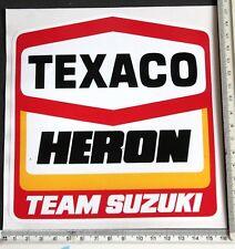 Texaco Heron Team Suzuki Large sticker      1