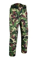 WARRIOR NEW Motorcycle Camouflage Waterproof  Motorbike Textile Armour Trouser