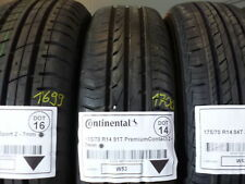 1x Sommerreifen CONTI 165/70 R14 91T PremiumContact 2 DOT14 - 7mm