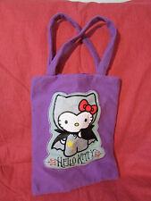 HALLOWEEN HELLO KITTY in Vampire Suit Tote Bag wTag Vintage 2007 WORKING Handle
