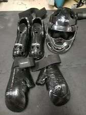 Century Martial Arts Sparring Gear - Black - Adult Small/ Youth Large