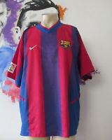 Vintage Barcelona 2002 2003 home shirt Nike soccer jersey size XL Barca