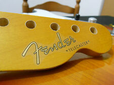 Replacement decal for 1950 Fender Telecaster Decal Vintage Logo Gold/Silver