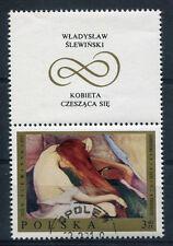 POLOGNE, 1969, timbre 1796, TABLEAU STEWINSKI, oblitéré