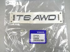Genuine Volvo T6 AWD Name Badge Emblem 2003-2013 XC90 NEW OEM