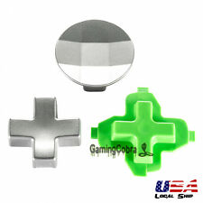 Raised Swap Metal D-pad Button Bullet Set for Xbox One Elite 3.5mm Controller