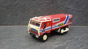 VERY RARE LIMITED EDITION TOY TATRA 815 TRUCK WINNER RALLY DAKAR  1988