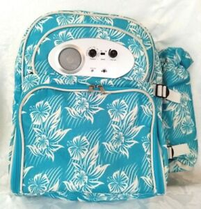Picnic Coolbag Back Pack with Radio and Cutlery