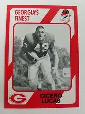 Cicero Lucas Georgia Bulldogs UGA Dawgs 89 Collegiate Collection Washington GA