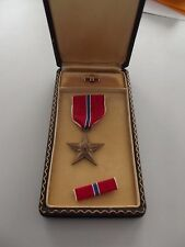 ^(118) Original WWII USA Bronze Star  ab 1941 ...im Etui