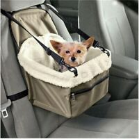 Pet Carrier Dog Car Seat Cover  Waterproof Puppy Car Booster Seat Protector Warm