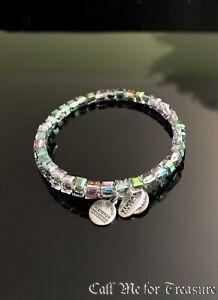 Alex and Ani Swarovski Crystal bead wrap bracelet NEW