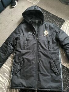 Northern Ireland Football Managers Padded Coat Adidas Winter Hooded