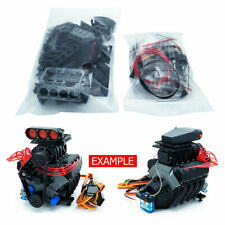 DarkDragonWing 1/10 RC OHV V8 H SC FD Engine Unpainted Kit