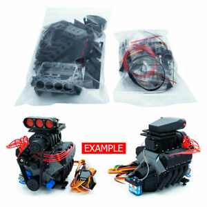 DarkDragonWing 1/10 RC OHV V8 H SC FD Engine Kit