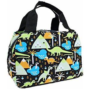 Insulated School Lunch Case Box Girl Boys Kids Bag Monster Mermaid Owl Dinosaur